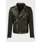 Mens Black sheep motorbike leather jacket