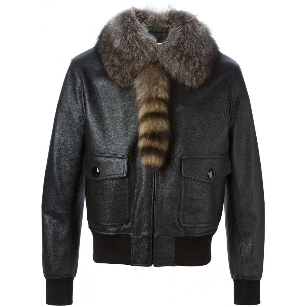 Fox leather jackets