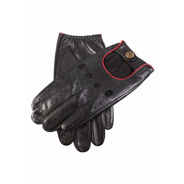 Black sheep leather cycle summer gloves